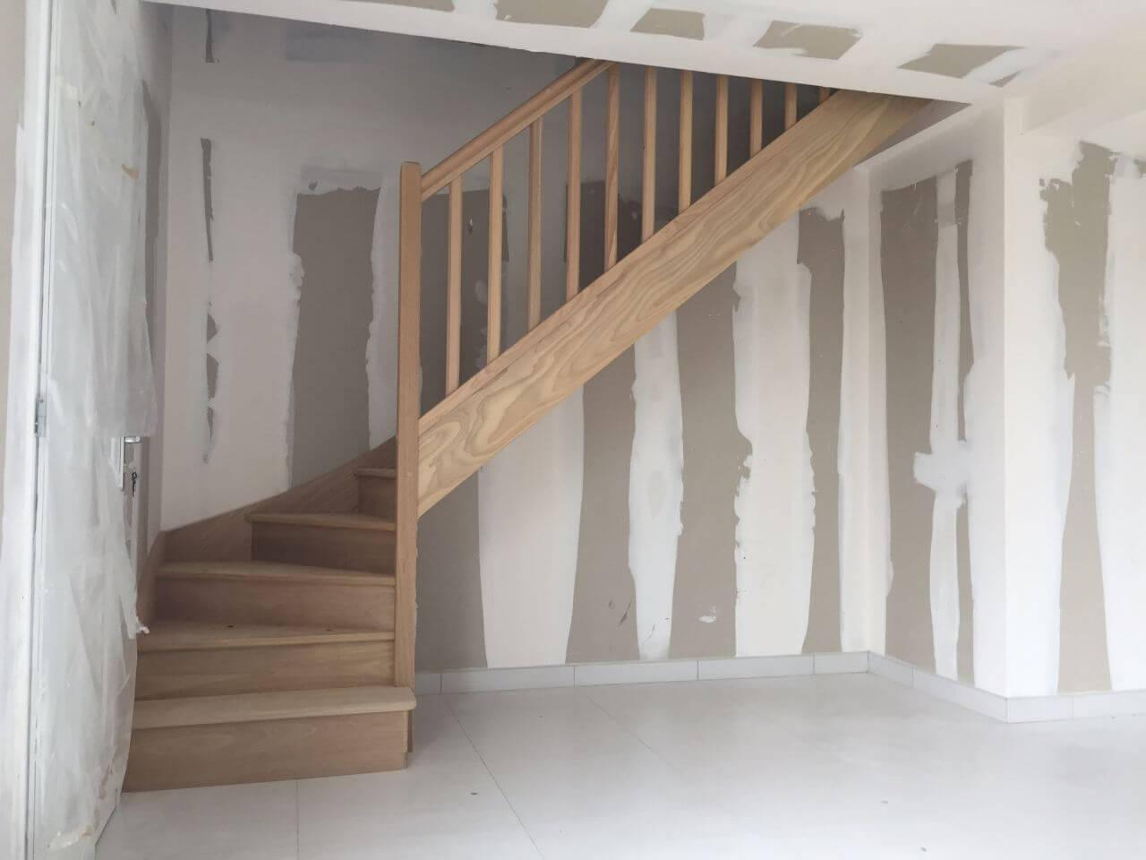 photos de escaliers en bois pro escalier com. Black Bedroom Furniture Sets. Home Design Ideas